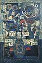 UBEDA Augustin né en 1925 VASE DE FLEURS Huile sur, Augustín Ubeda, Click for value