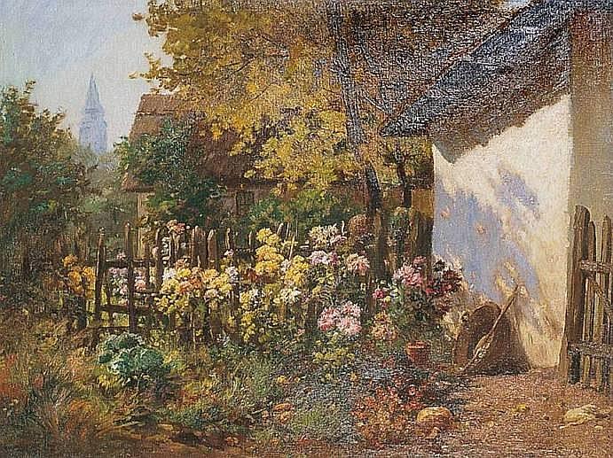 JAEGER Carl Auguste né à Volklingen en 1879 JARDIN