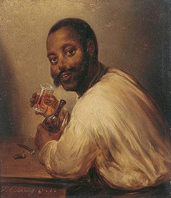 CORNELIUS CORRENS Joseph 1814-1907 LE CUBAIN,