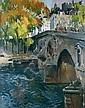 Jean-Paul ANDERBOUHR-1909-2006 PARIS, LE PONT, Paul-Jean Anderbouhr, Click for value