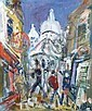 Roland DUBUC-1924-1998 PARIS, MONTMARTRE. Huile, Roland Dubuc, Click for value