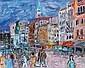 Maurice EMPI-né en 1932 VENISE. Huile sur toile, Maurice Empi, Click for value