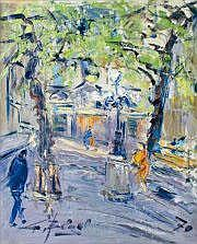 Georges BERGER - 1908-1976 LA PLACE FURSTENBERG,