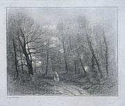 Edmond CUISINIER - 1857-1917 MÈRE ET SON ENFANT
