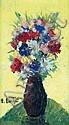 Emmanuel BELLINI - 1904-1989 VASE DE FLEURS Huile, Emmanuel Bellini, Click for value