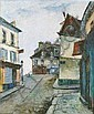Francis LE COADIC - né en 1912 MONTMARTRE, LA RUE, Francis LeCoadic, Click for value
