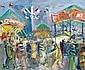Roland DUBUC - 1924-1998 LES MANÈGES Huile sur, Roland Dubuc, Click for value