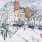 Charles MALLE (né en 1935), PARIS BOULEVARD PRÈS, Charles Malle , Click for value