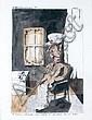 Lionel VINCHE (né en 1936) UN GARDIEN DU MUSÉE, Lionel Vinche, Click for value