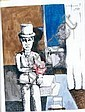 Lionel VINCHE (né en 1936) LE VENTRILOQUE, 1976, Lionel Vinche, Click for value