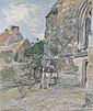 Étienne MOREAU-NELATON - 1859-1927L'ÉGLISE DE, Etienne Moreau-Nélaton, Click for value