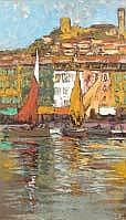Charles-Henri DAGNAC-RIVIERE (1864-1945) PORT