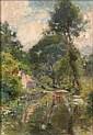 Jules-Cyrille CAVE (1859-1940) MAISON EN BORD DE, Jules-Cyrille Cave, Click for value