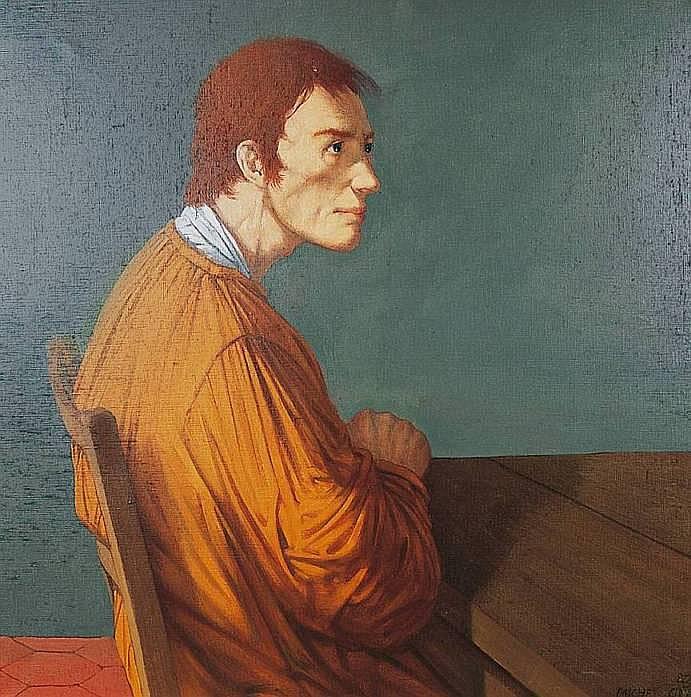 CIRY Michel né en 1919 EMMAÜS 1983 Huile sur toile
