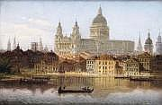 Johann Wilhelm JANKOWSKI - 1825-1870 VENISE, VUE