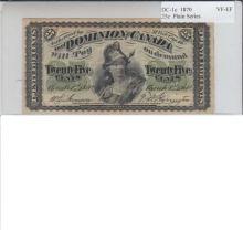 1870 Shinplaster Plain Series