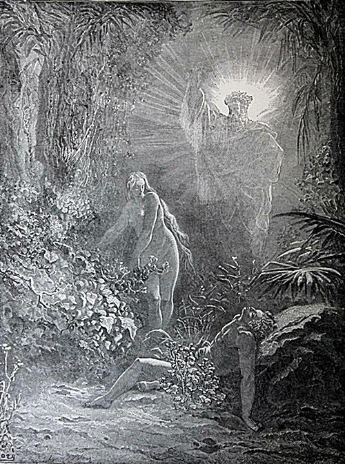 The Dore Bible Gallery Pg 1 Creation Of Eve