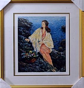 Semeko - Beauty by the Seaside - Serigraph