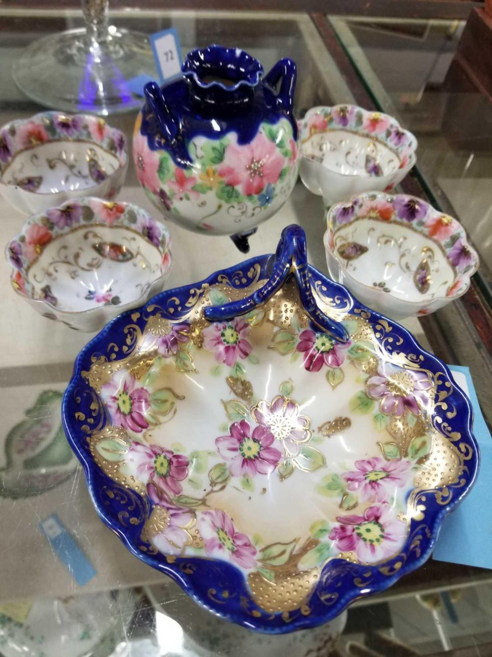 NIPPON STYLE PORCELAIN - 3 ITEMS