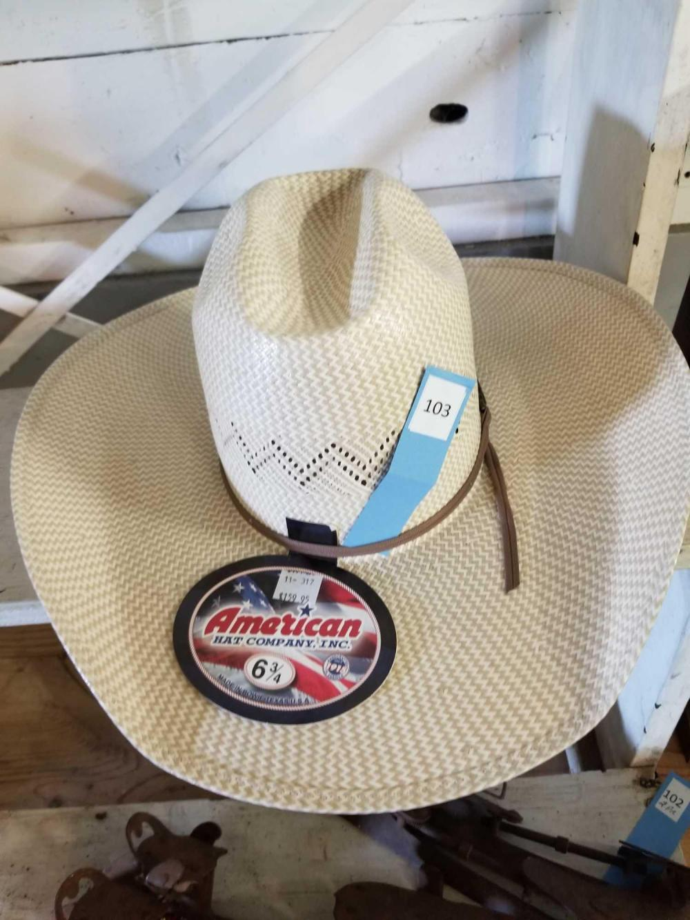 AMERICAN HAT CO. SUMMER COWBOY HAT