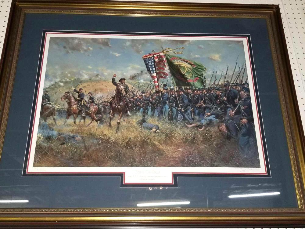 """SONS OF ERIN 69TH NYV"" LIMITED EDITION SIGNED & NUMBERED PRINT BY DON TROIANI"
