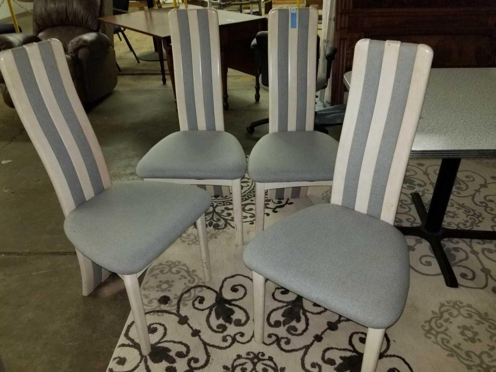 BENNY LINDEN LIMED TEAK MID-CENTURY MODERN DINING CHAIRS - SET OF 4