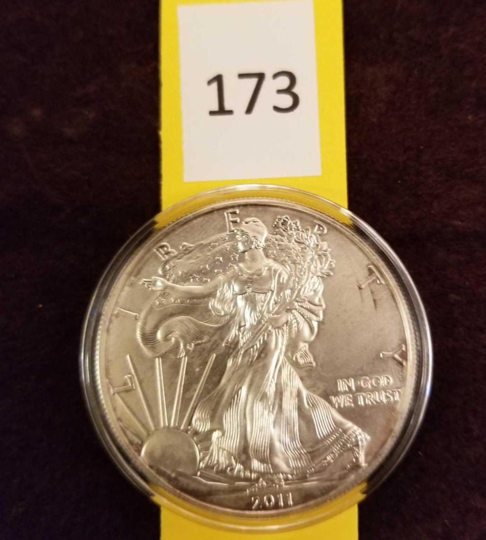 2011 Uncirculated Liberty Silver Dollar
