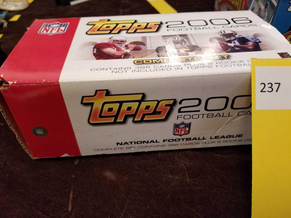 Topps 2006 Fotball Cards Complete Set