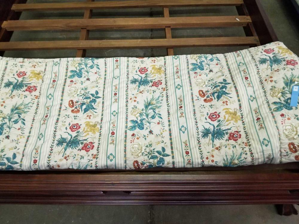CUSTOM MADE QUEEN SIZE BED SPREAD