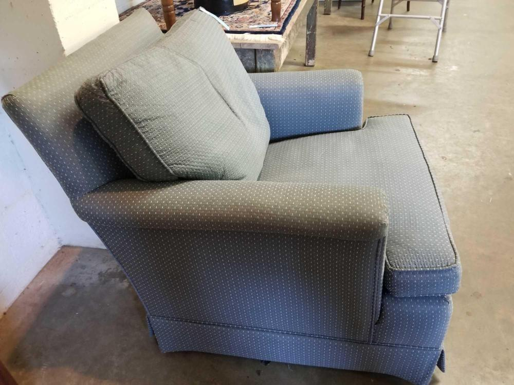 UPHOLSTERED CLUB ARM CHAIR BY PEARSON