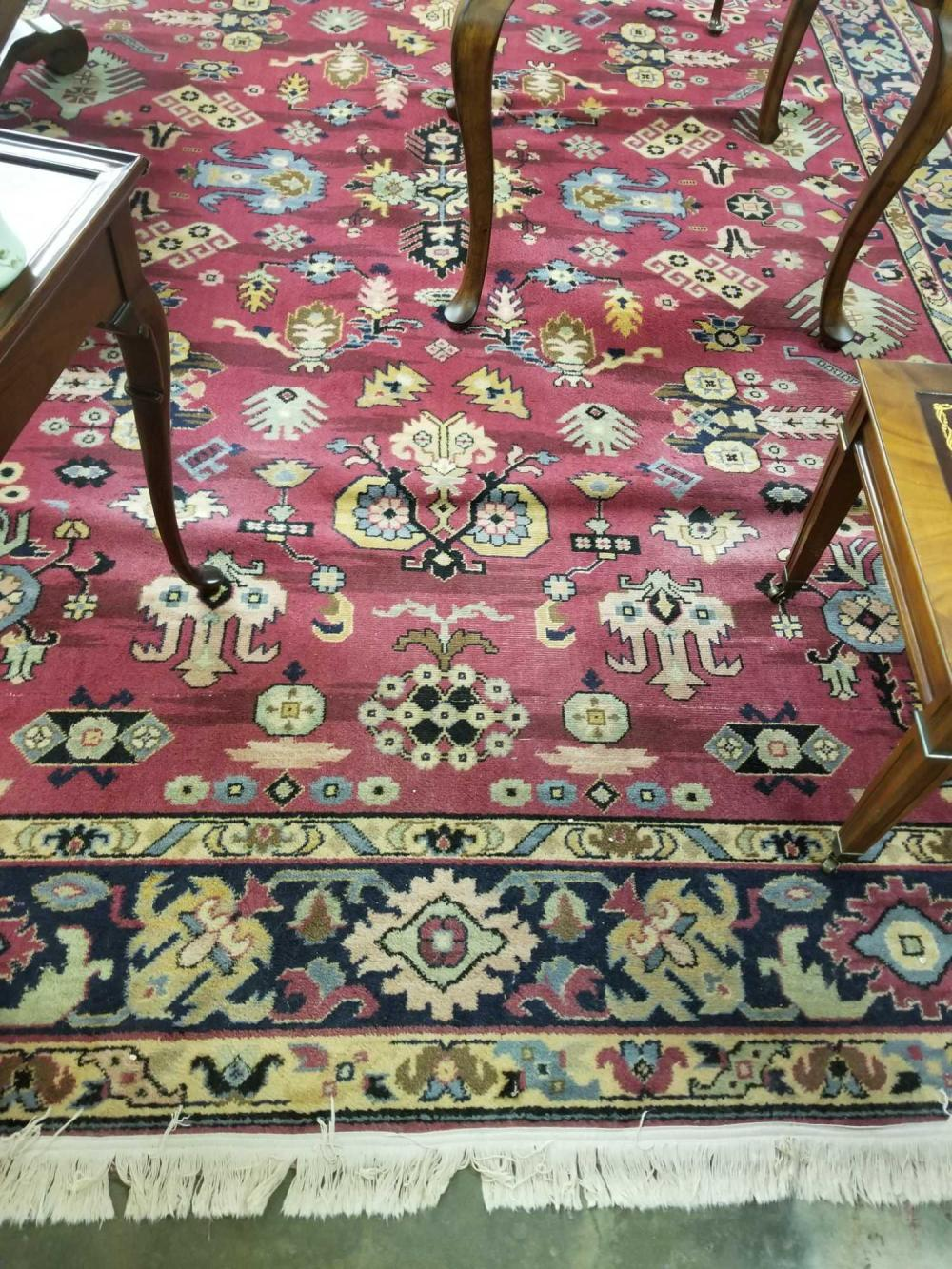 MACHINE WOVEN ORIENTAL STYLE ROOM SIZE RUG