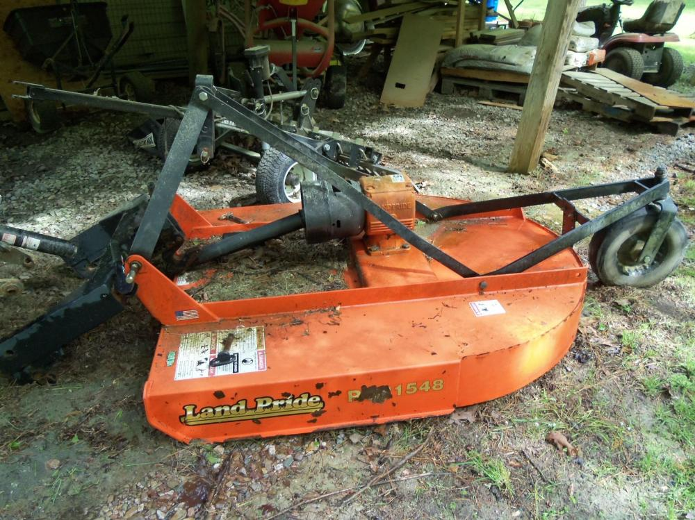 "Land Pride RCR 1548 48"" Bush Hog Rotary Cutter"