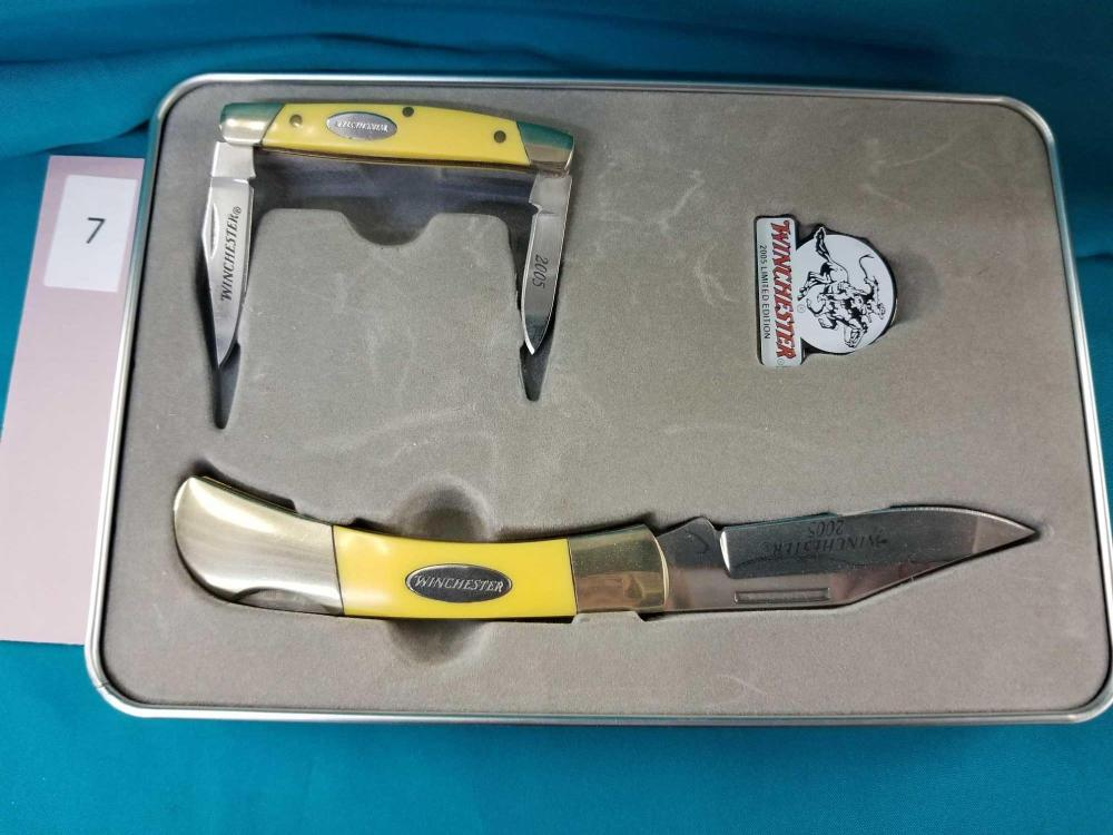 WINCHESTER 2005 LIMITED EDITION POCKET KNIVES SET
