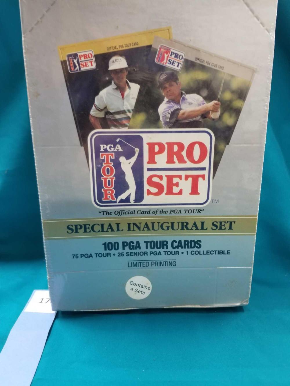 PGA TOUR PRO CARD SET - SPECIAL INAUGURAL SET