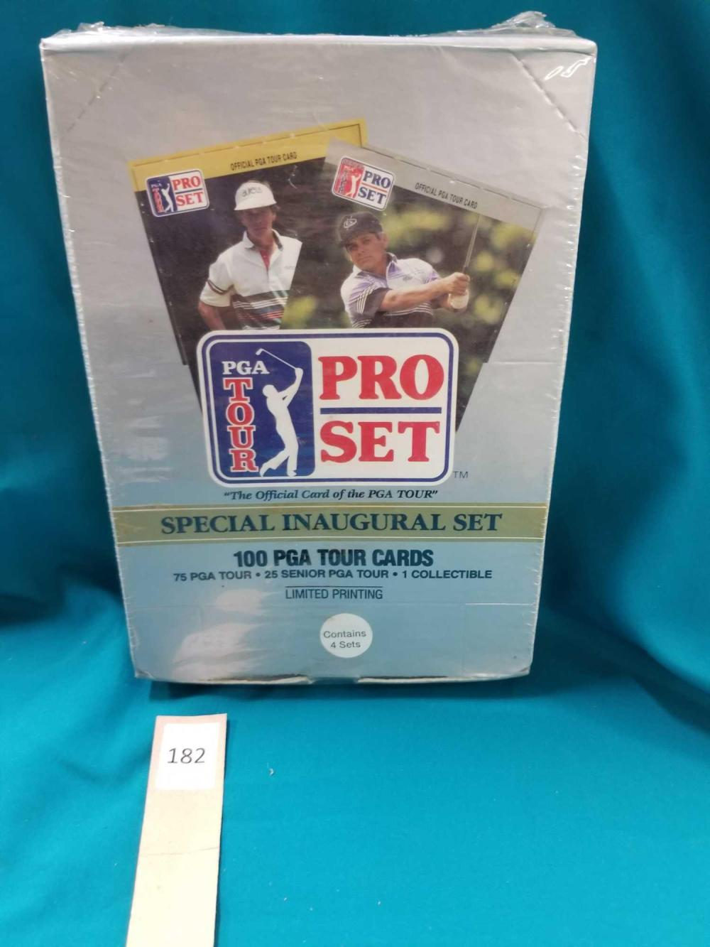 PGA TOUR PRO CARD SET - SPECIAL INAUGURAL SET IN THE BOX