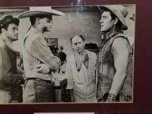 Lot 20: PATRICK WAYNE SIGNED MOVIE STILL FRAMED