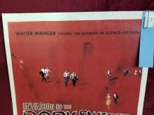 """Lot 7: """"INVASION OF THE BODY SNATCHERS"""" KEVIN MC CARTHY & DANA WYNTER SIGNED POSTER"""