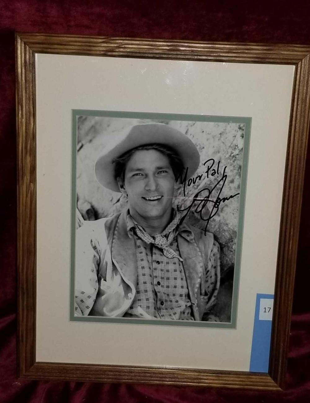 L.Q. JONES COWBOY SIGNED PHOTO