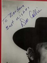 """Lot 24: DAN COLLIER COWBOY PHOTO FROM """"HIGH CHAPARRAL AUTOGRAPHED BLACK & WHITE PHOTO"""