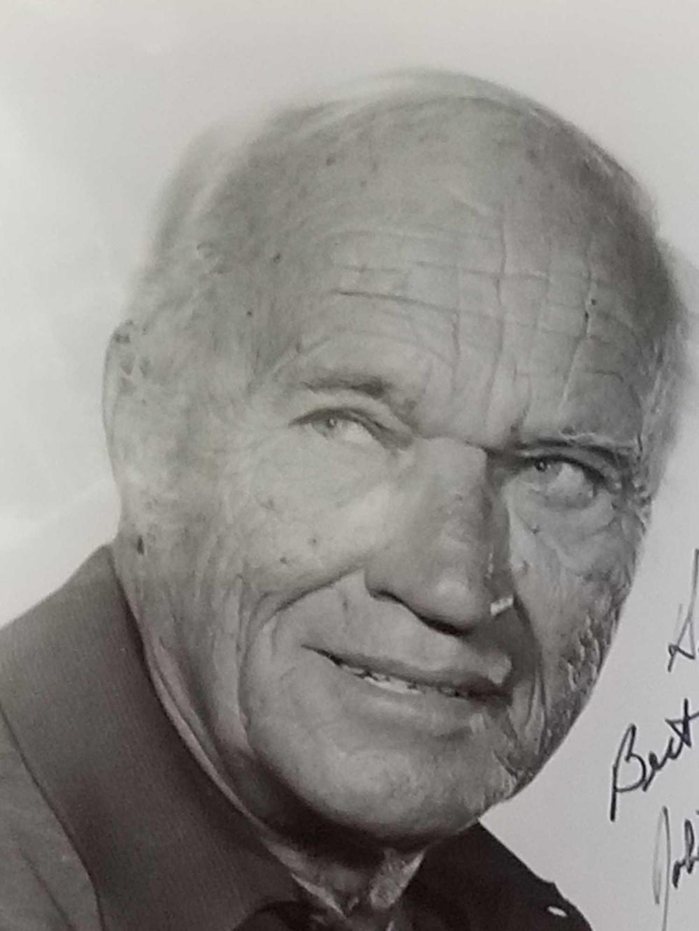 Lot 43: ROBERT J. WILKE HEAD SHOT BLACK & WHITE SIGNED PHOTO