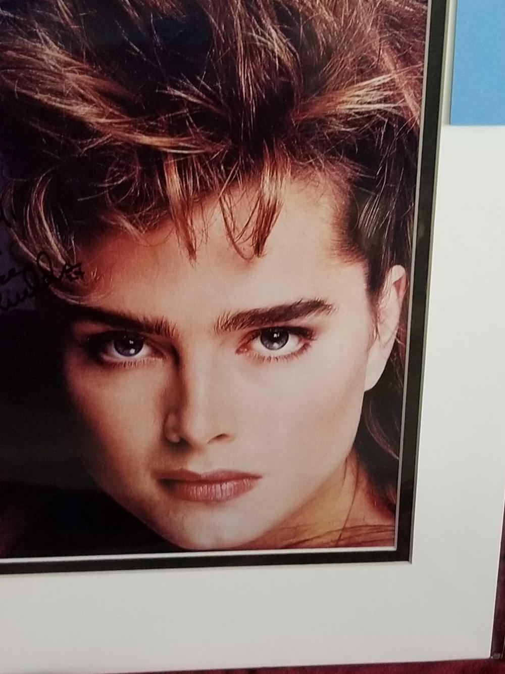 Lot 49: BROOKE SHIELDS COLOR SIGNED PHOTO