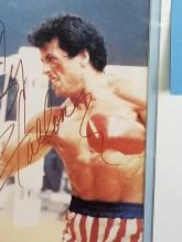 Lot 51: MR. T & SLY STALLONE FROM ROCKY III COLOR PHOTO