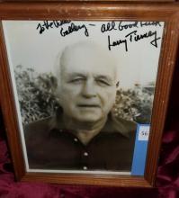 Lot 56: LARRY TIERNEY PUBLICITY PHOTO