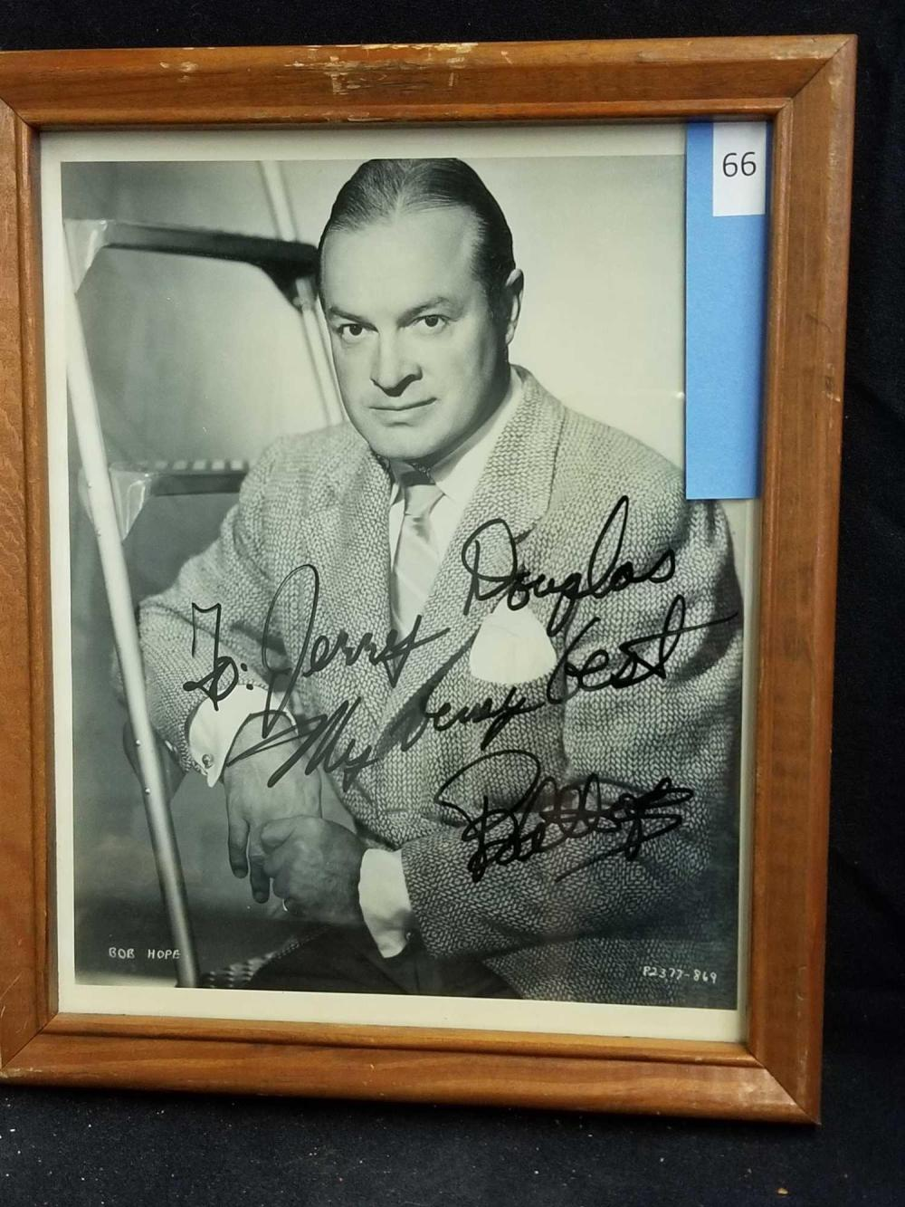 BOB HOPE BLACK & WHITE PUBLICITY PHOTO