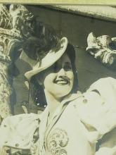 Lot 70: DOROTHY LAMOUR SEPIATONE MOVIE STILL SIGNED PHOTO