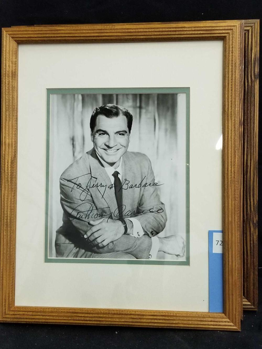 ANTHONY CARUSO BLACK & WHITE SIGNED  PUBLICITY PHOTO