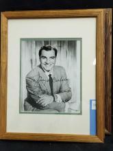 Lot 72: ANTHONY CARUSO BLACK & WHITE SIGNED PUBLICITY PHOTO