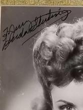 Lot 78: LINDA STIRLING SIGNED BLACK & WHITE PUBLICITY PHOTO