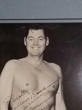 Lot 81: JOHNNY WEISSMULLER SIGNED BLACK & WHITE PUBLICITY PHOTO