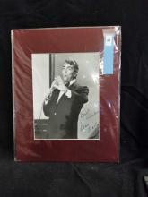 Lot 94: DEAN MARTIN BLACK & WHITE SIGNED PUBLICITY PHOTO